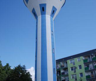 Renowacja wieży ciśnień