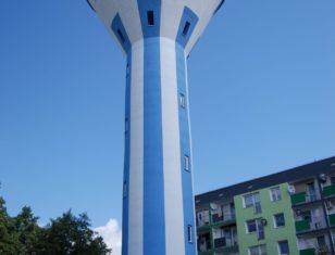 Wieża ciśnień po renowacji